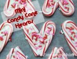 Mini Candy Cane Hearts