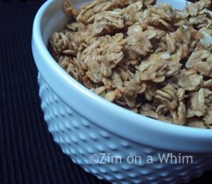 peanut butter granola 3