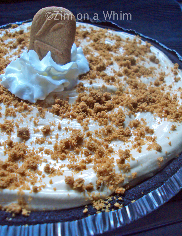 Biscoff Cream Pie | Zim on a Whim