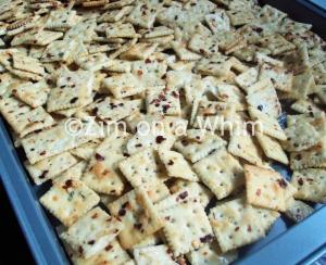Savory Saltines pre-baked