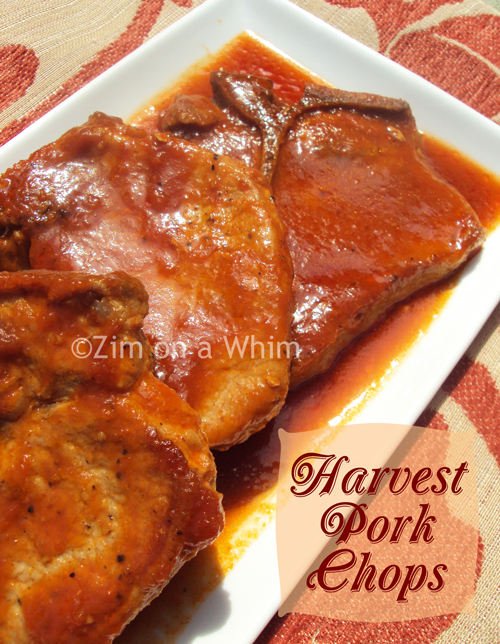 Harvest Pork Chops :: Zim on a Whim