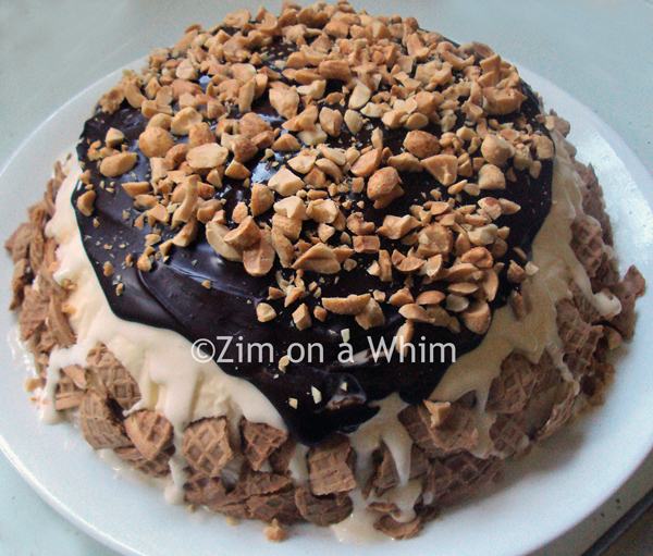 King Cone Ice Cream Cake | Zim on a Whim