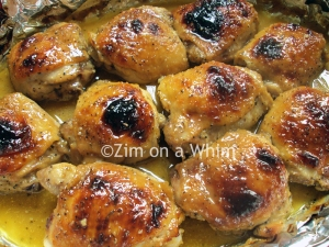 Maple Dijon Chicken Thighs | Zim on a Whim